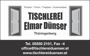 Tischlerei Dünser