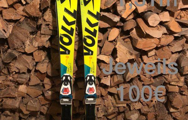 2x Völkl Slalomski 131cm