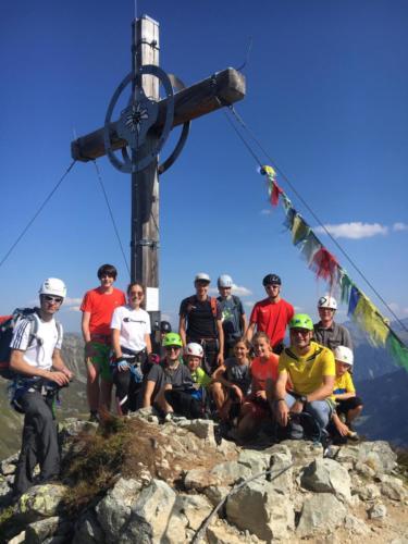 Klettersteig Gargellner Köpfe 2020