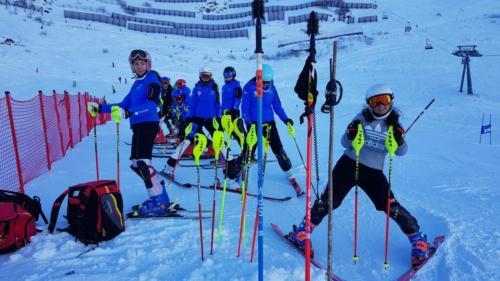 Slalomtraining 30. Dezember 19