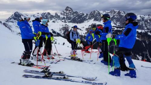 Slalomtraining 17.01.20